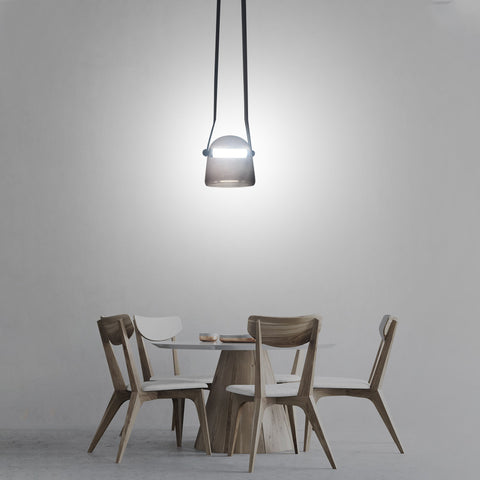 Jena Smoke Hanging Light  india