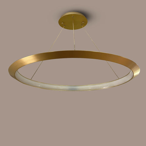Large Curved Ring LED Chandelier Bangalore