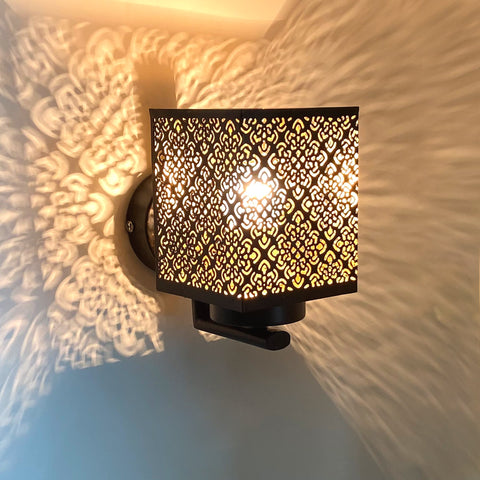 Laser Cut Single Wall Light India
