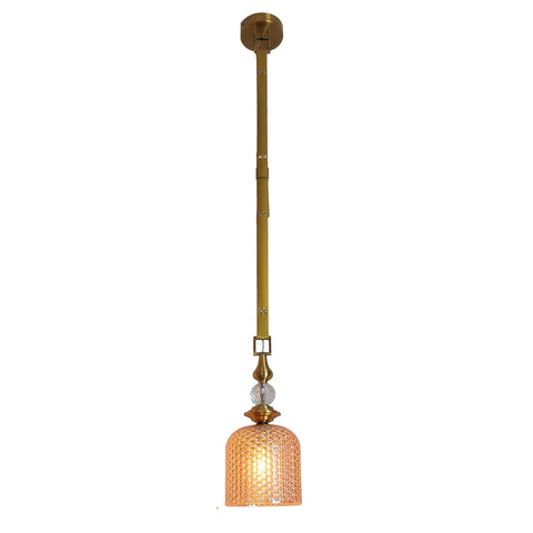 Leather Belt Glass Pendant Lamp Bangalore