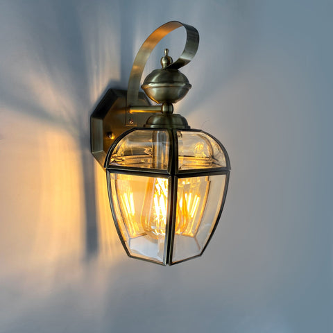 Liquid Brass Wall Lamp India