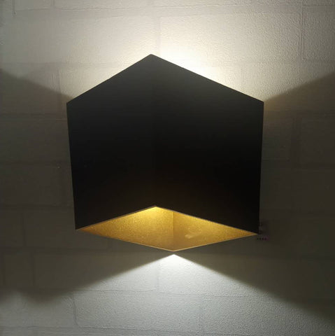 Preck Black Gold Wall Lamp Shop