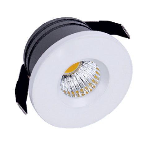 Recessed 3 Watts Round Light India