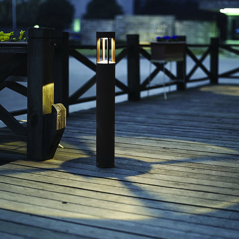 Rise Round LED Outdoor Bollard Light India