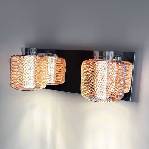 Rose Mesh Double LED Wall Light Bangalore