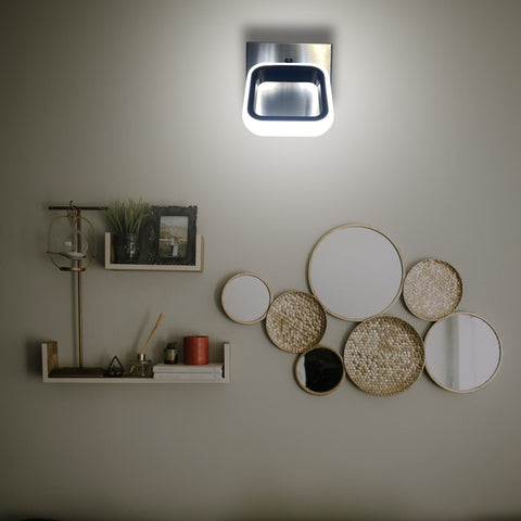 Silver Glare LED Wall Light Shop