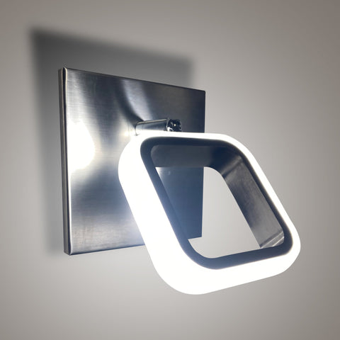 Silver Glare LED Wall Light Store