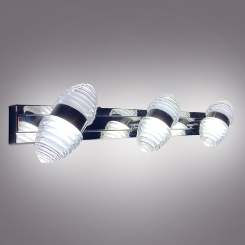 Silver Lining LED Triple Mirror Light Store