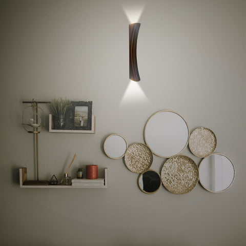 Sleek Copper LED Wall Light Bangalore