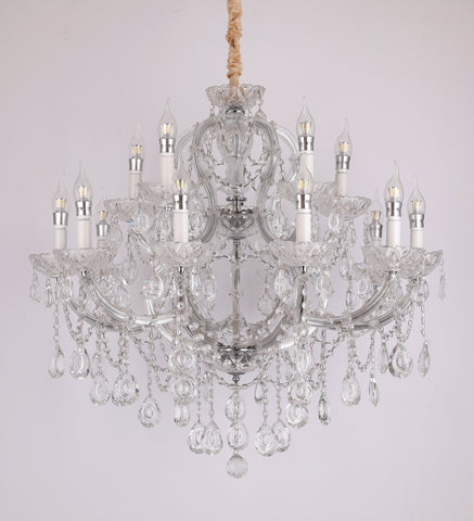Sparkle 15 Light Crystal Chandelier Bangalore