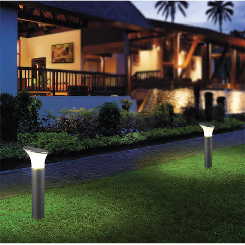 Tall Curves Outdoor Bollard Light India