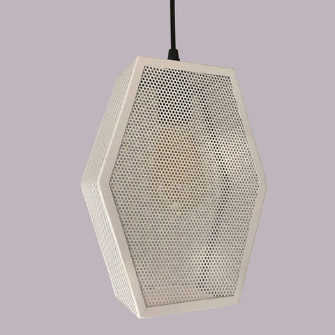 White Crown Pendant Light Store