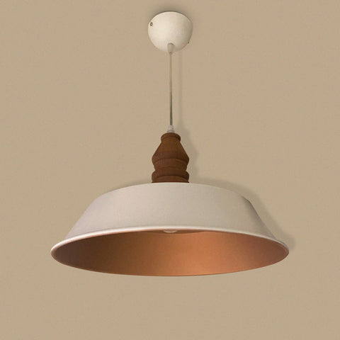 White Ramekin Pendant Light Bangalore