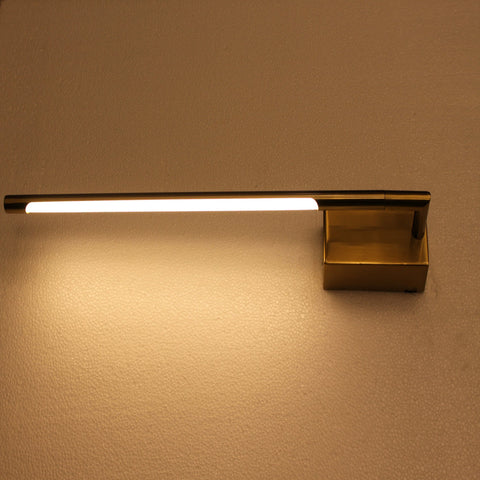 BrightPipe LED Wall used as a picture light and with warm white light
