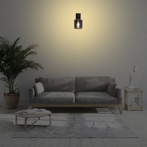 Fine Black Wall Light store