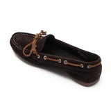 Mocasini dama, maro, din piele naturala – 237AM - Clasicor Outlet