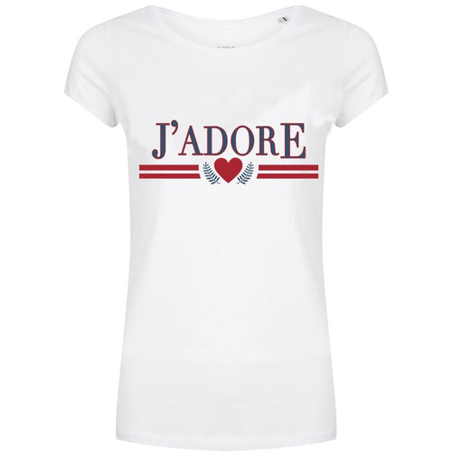 Forever Friday J'adore statement t-shirt