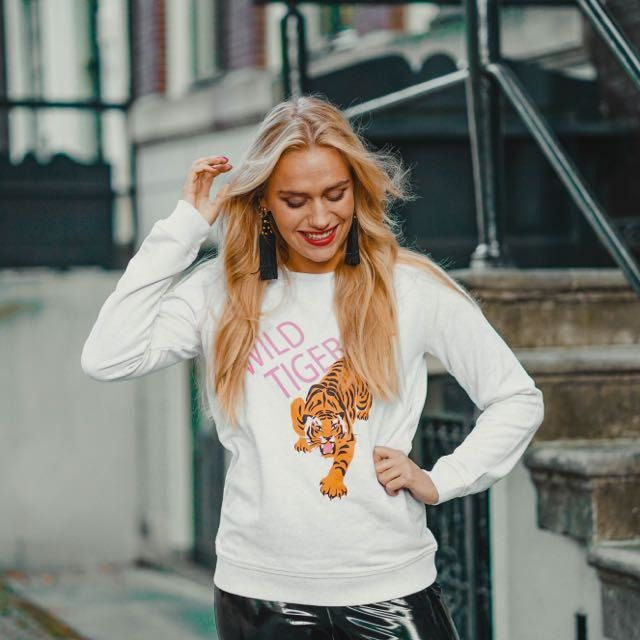 Wild Tiger sweater