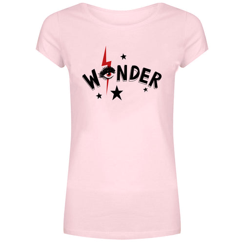 Forever Friday wonder t-shirt roze