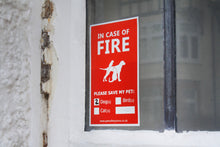 Pet Fire Sign