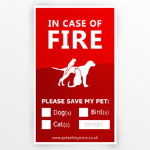 Pet Fire Sign Bundle