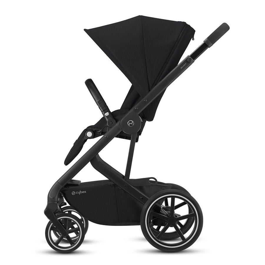 Travel System Balios S Lux BLK + Aton M + Base Cybex