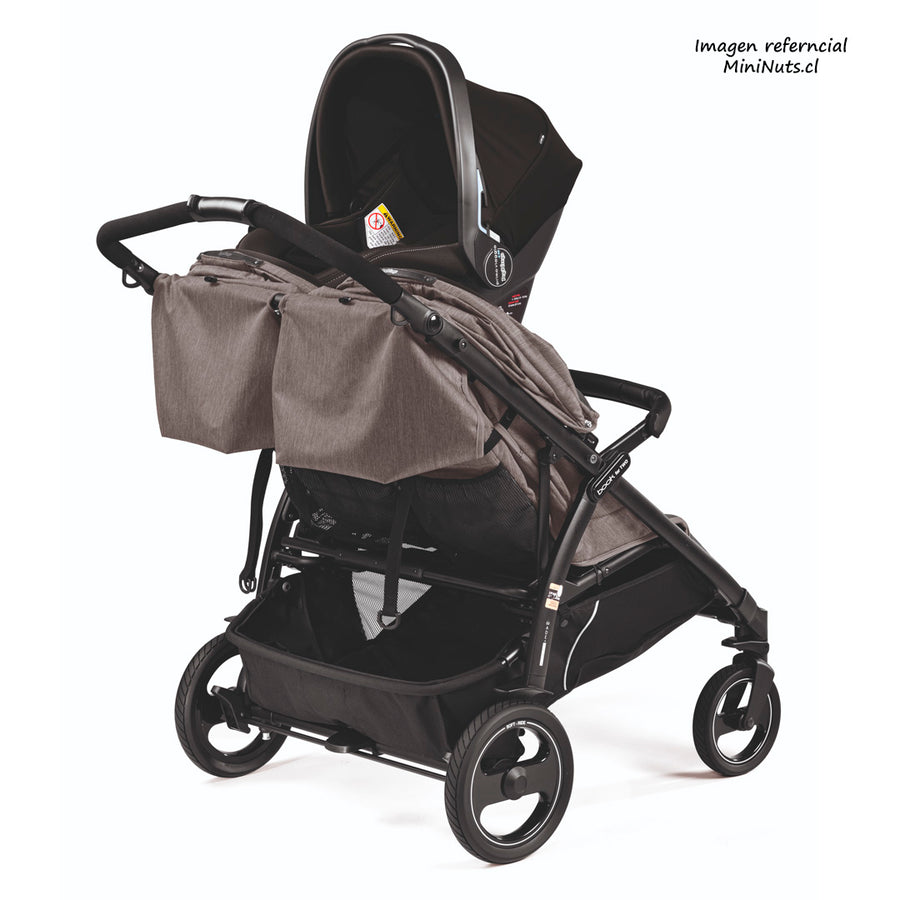 Adaptador individual para Coche doble Book for Two Peg Perego Mini Nuts