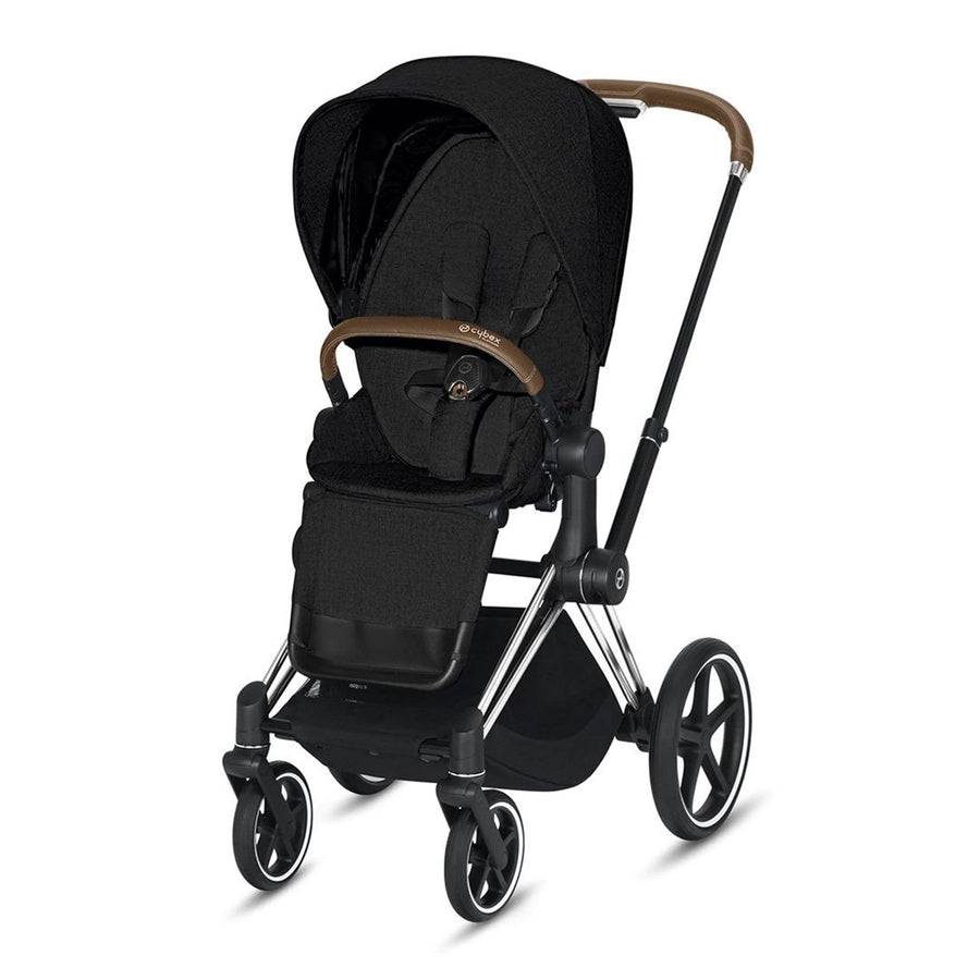 Travel System Priam Chrome Brown+ Cloud Z + Base Z Cybex - Cybex-MiniNuts