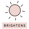 brightenss the skin