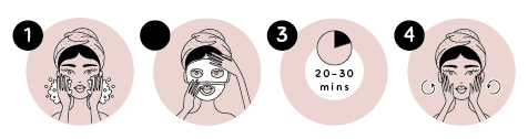 how to use korean masks