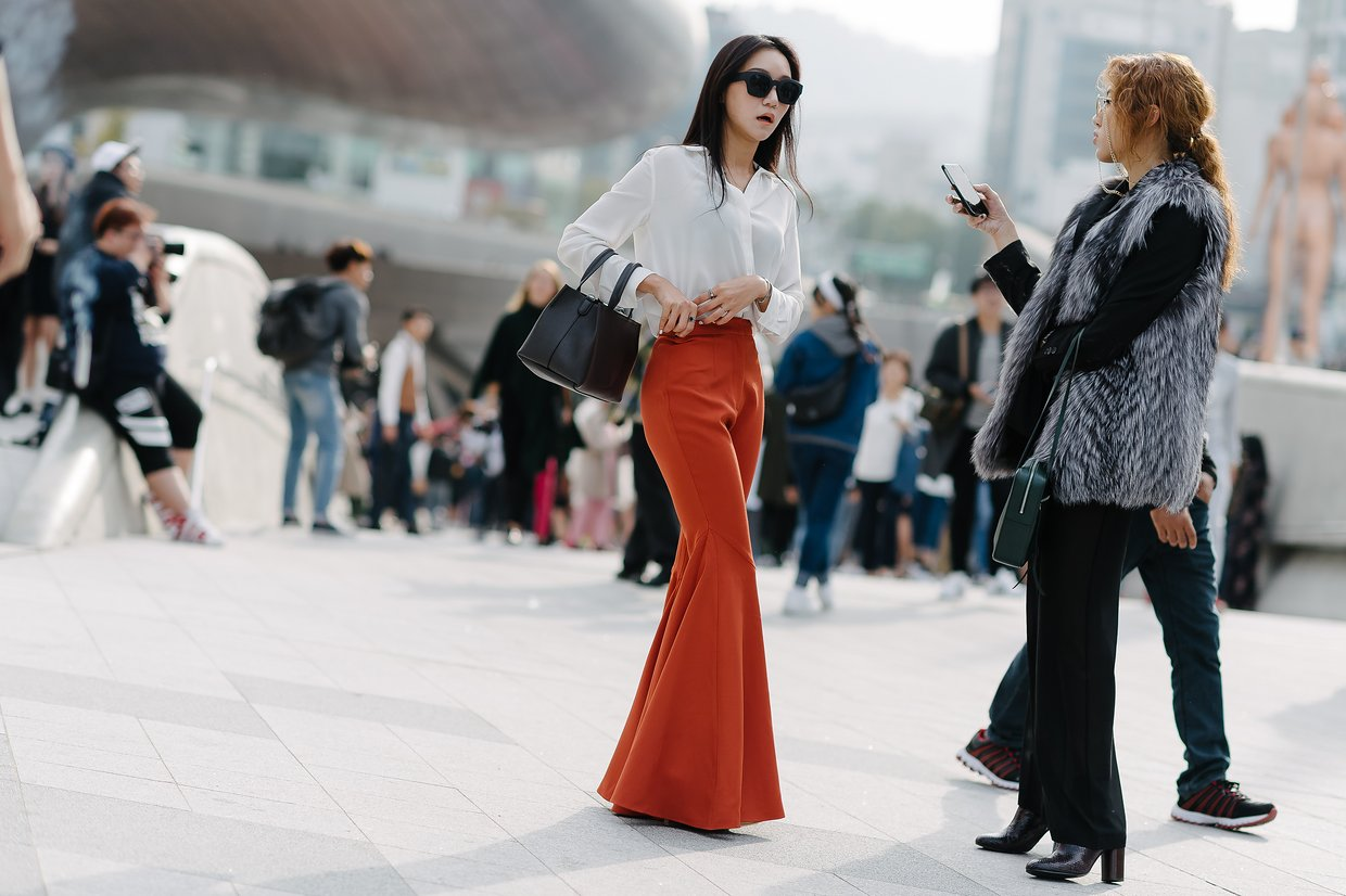 south korea city street style