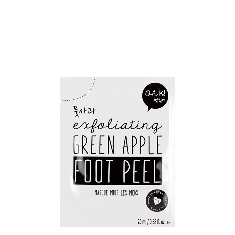 Oh K! Exfoliating Green Apple Peeling Foot Mask