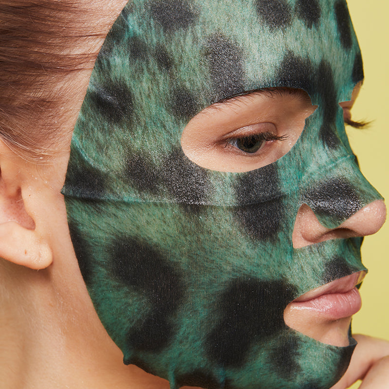 Oh K! SOS Clarifying Leopard Print Mask
