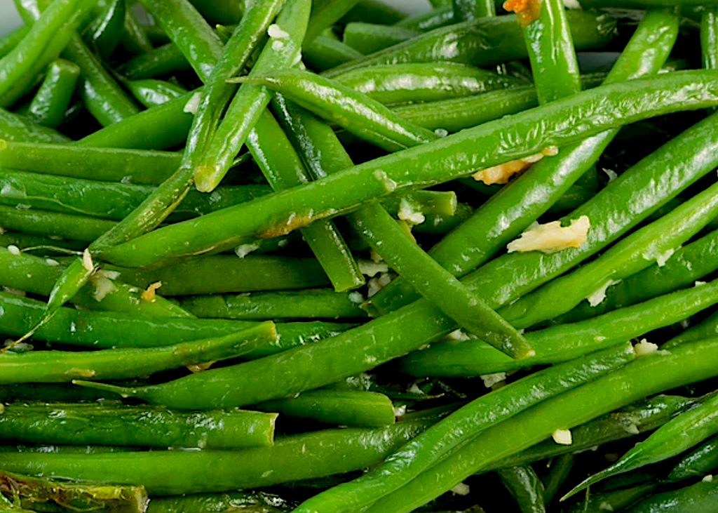 GARLICKY LEMONY GREEN BEANS