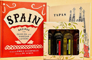 SPAIN COOKBOOK + GIFT BOX (4 x 60mls)