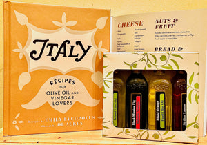 ITALY COOKBOOK + GIFT BOX (4 x 60mls)
