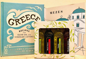 GREECE COOKBOOK + GIFT BOX (4 x 60mls)