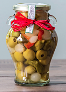 PICKLED SPICY OLIVE MIX