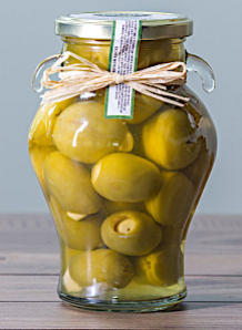 GARLIC STUFFED OLIVES (IN-STORE ONLY)