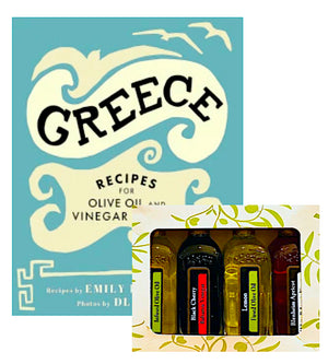 GREECE COOKBOOK + SAMPLER PACK