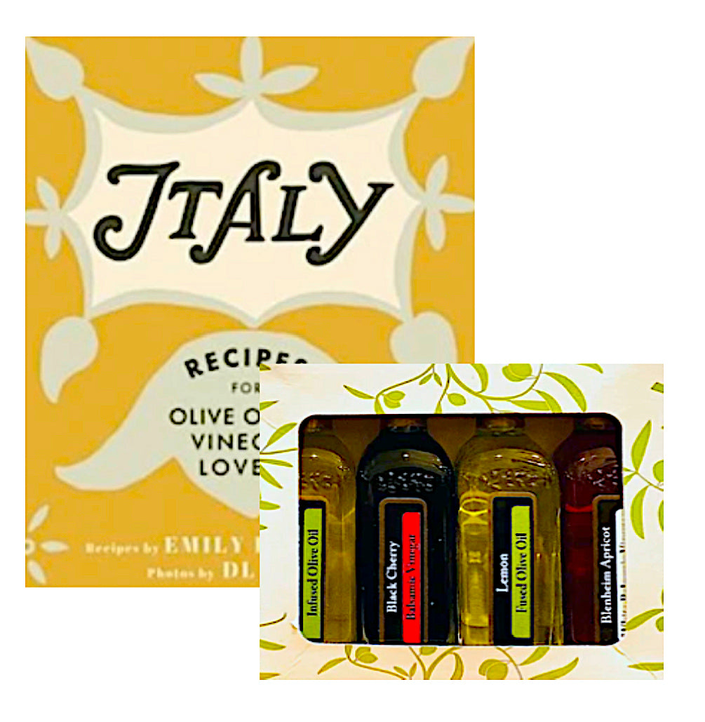 ITALY COOKBOOK + SAMPLER