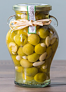 ALMOND STUFFED MANZANILLO OLIVES