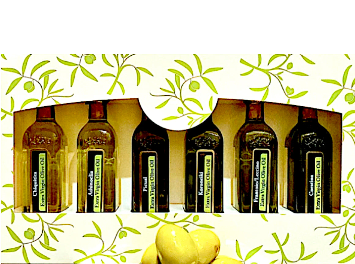 WORLD OLIVE OIL FLIGHT 6-PACK (6 x 60mls)