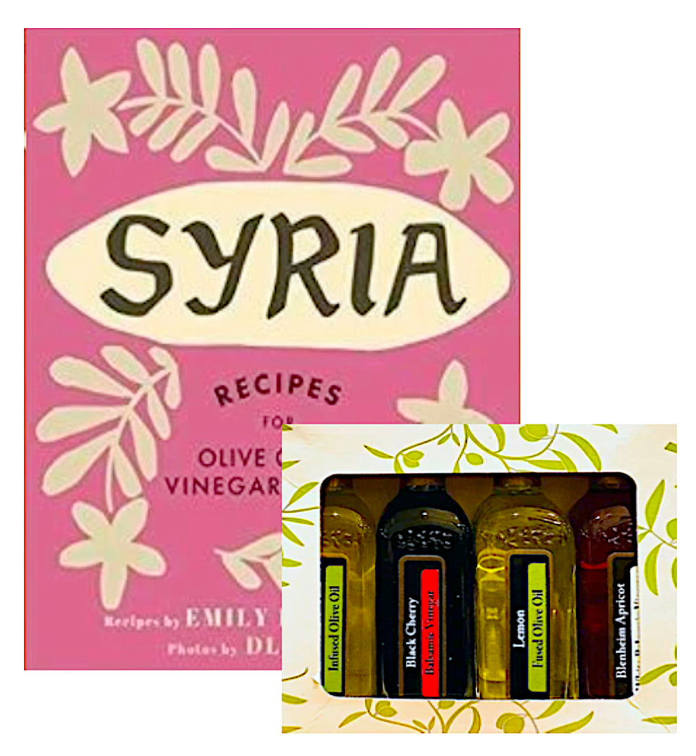 SYRIA COOKBOOK + SAMPLER