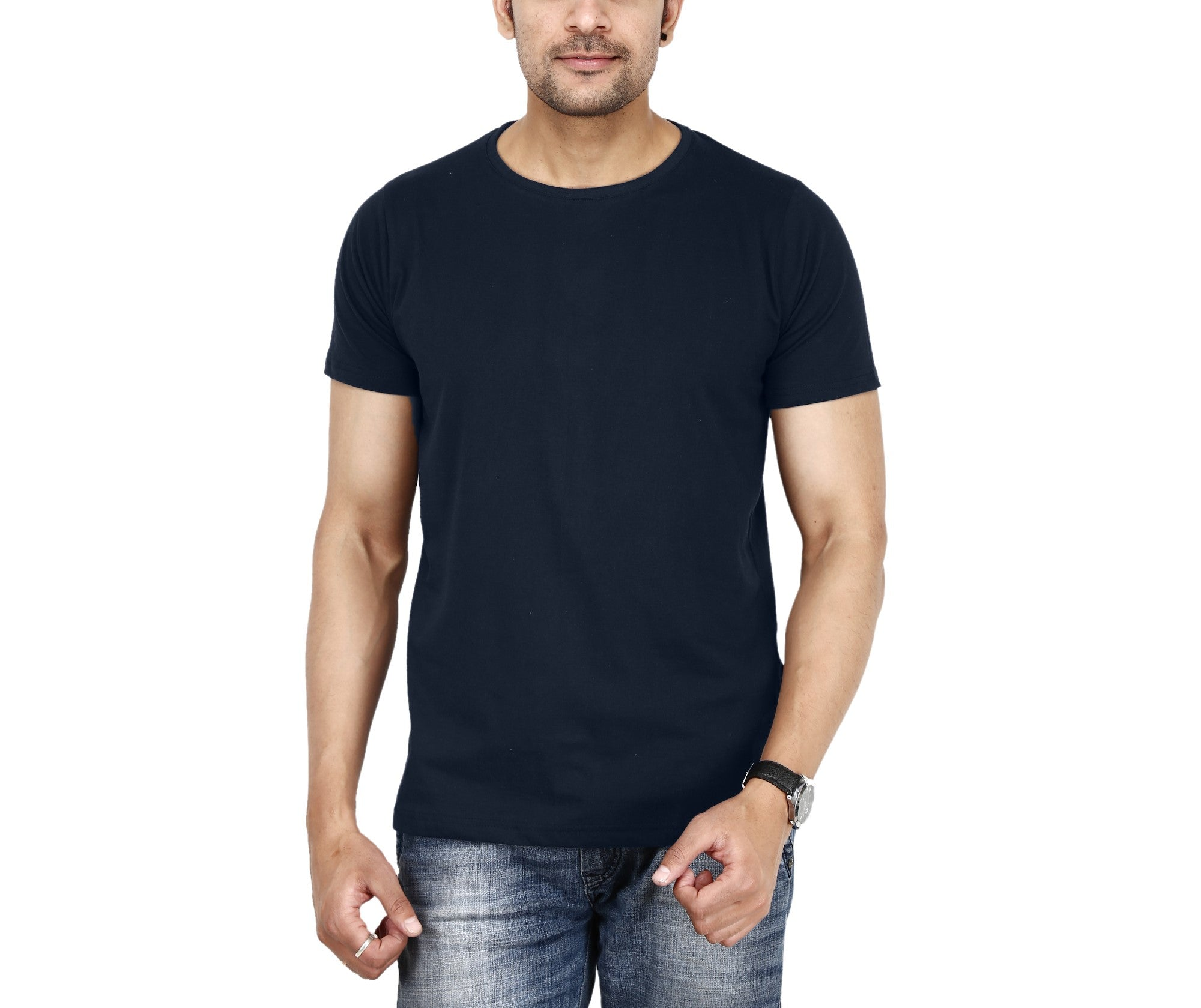 11c553511 Lazychunks.com Plan Navy Blue t-shirt for mens , Half sleeves tshirt ...