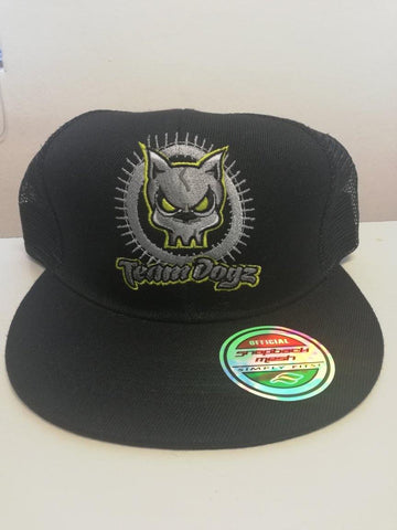 TeamDogz Black Mesh Snapback - Scooter-X