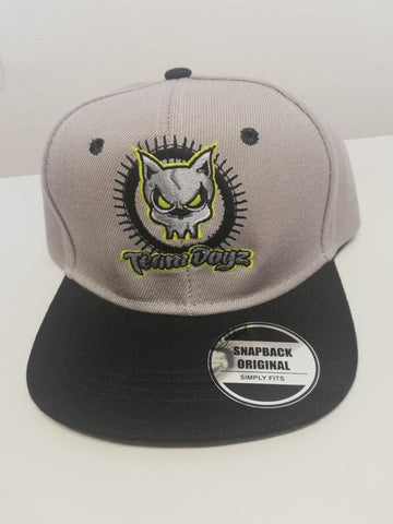 TeamDogz Black & Grey Snapback Original - Scooter-X