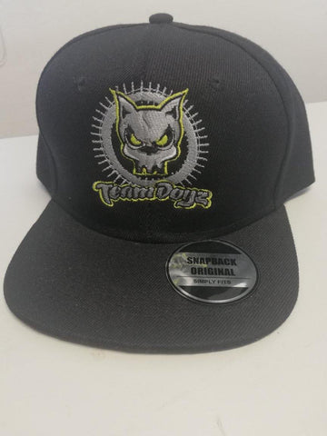 TeamDogz Black Snapback Original - Scooter-X