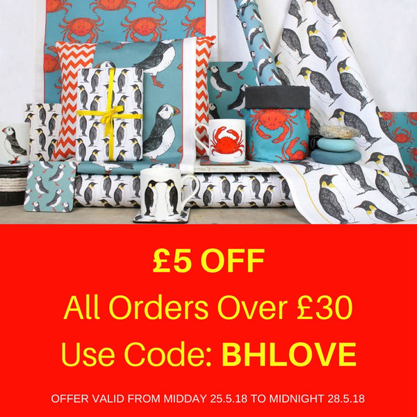 Bank Holiday Love With £5 OFF!