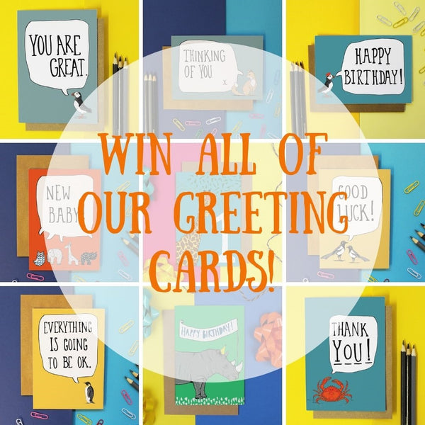 Win All Of Our Greeting Cards!